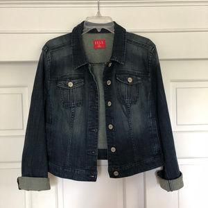 Denim Jacket Dark Blue Elle Brand Size XL